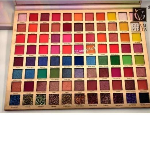 Glam Vista 88 color mega Eyeshadow pallet